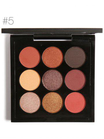 Shops 9 Colors Long Lasting Not Dizzy Waterproof Eyeshadow Kit