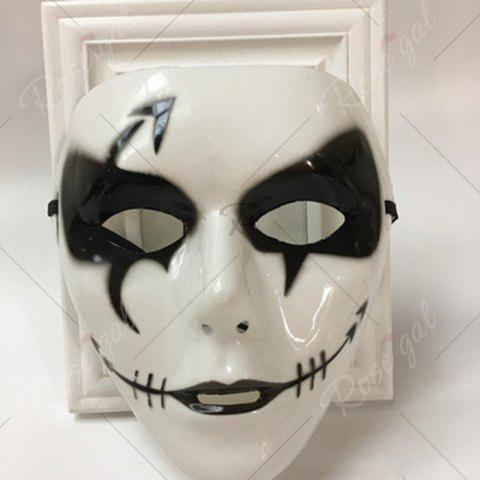 Shop Halloween Party Dancer Accessories Ghost Mask - FOR MEN (W16.5*H19.5CM) WHITE Mobile