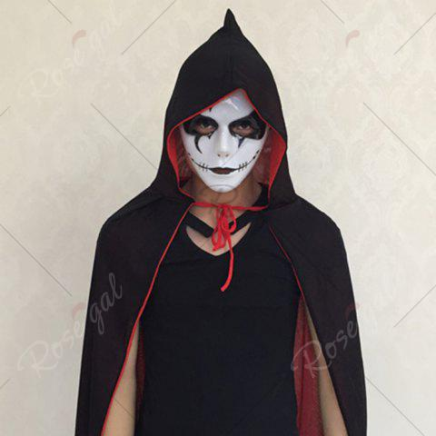 Cheap Halloween Party Dancer Accessories Ghost Mask - FOR MEN (W16.5*H19.5CM) WHITE Mobile