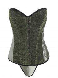 Lace Up Glitter Corset Top