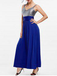 Backless Long Prom Evening Dress