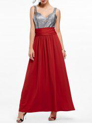 Backless Long Prom Evening Dress -