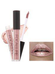 Metallic Color Moisturizing Waterproof Lip Glaze - #01