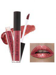 Metallic Color Moisturizing Waterproof Lip Glaze - #07