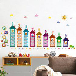 Multiplication Table Wall Art Sticker For Children Room