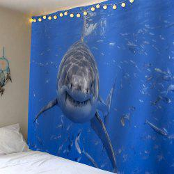 Wall Hanging Water Shark Print Tapestry