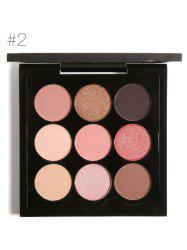 9 Colors Long Lasting Not Dizzy Waterproof Eyeshadow Kit -