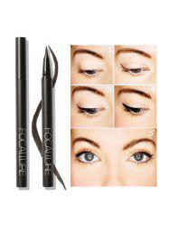 Quick Dry Anti Sweat Waterproof Eyeliner Pencil - BLACK