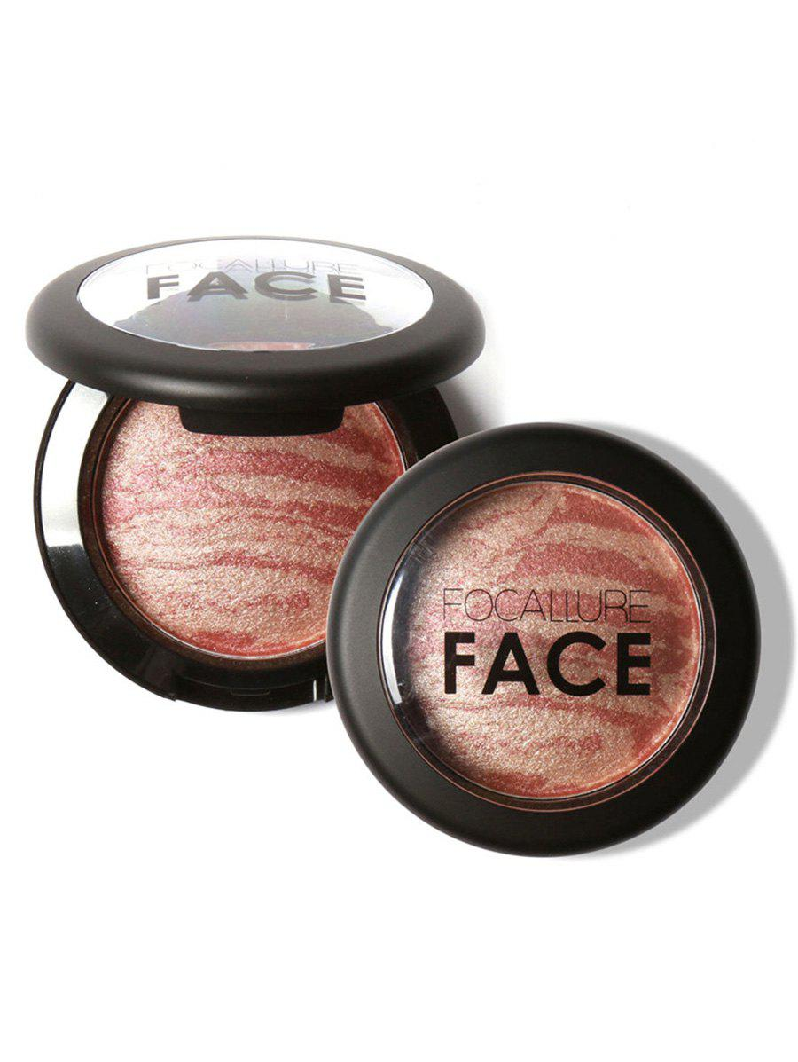 Soft Mineral Waterproof Blusher PaletteBEAUTY<br><br>Color: #06; Category: Blush; Type: Powder; Features: Limits Bacteria; Season: Fall,Spring,Summer,Winter; Diameter(CM): 6.1CM; Height(CM): 2CM; Weight: 0.0400kg; Package Contents: 1 x Blush;
