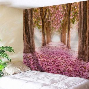 Sakura Scenery Throw Fabric Tapestry Wall Hanging