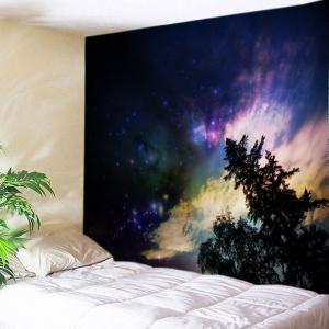 Galaxy Trees Print Tapestry Wall Hanging Art Decoration