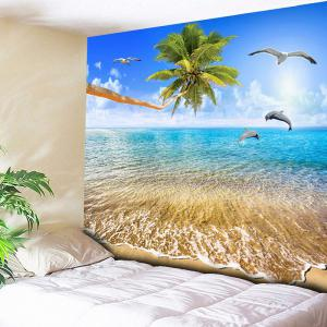 Beach Coconut Tree Wall Hanging Tapestry