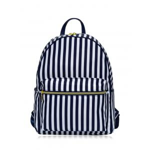 Color Block Polyester Backpack