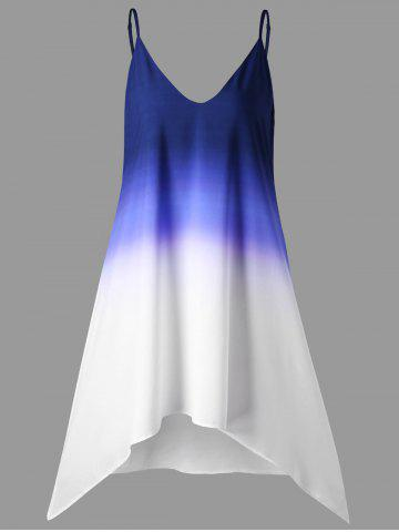 Chic Ombre Longline Tank Top