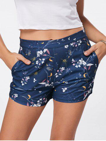 Outfit Mini Floral Print Shorts