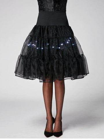 Fancy Flounce Light Up Bubble Cosplay Skirt