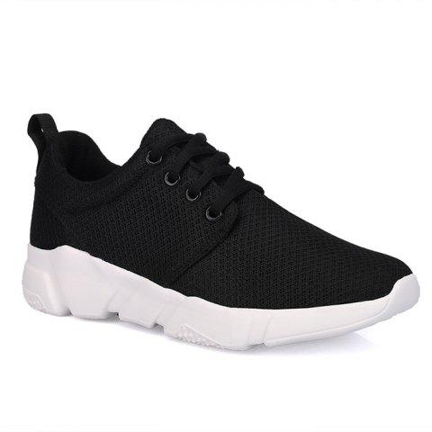 Cheap Eyelets Breathable Mesh Athletic Shoes