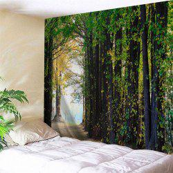 Forest Path Print Tapestry Wall Hanging Decoration -