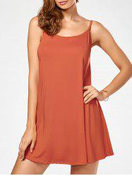 Short Slip Shift Dress - JACINTH
