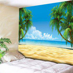 Beach Coconut Palm Wall Hanging Tapestry