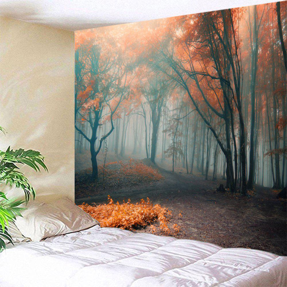 [29% OFF] Wall Art Hanging Misty Forest Bedroom Tapestry