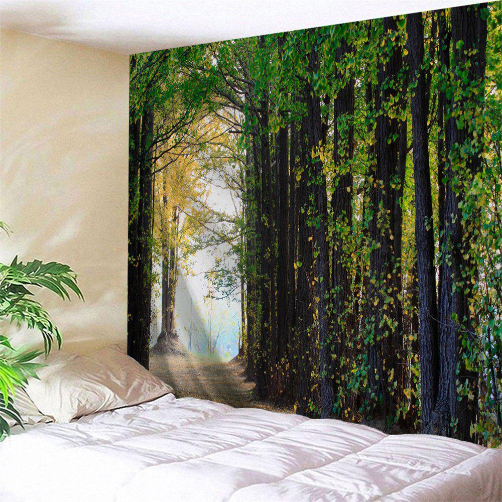 Unique Forest Path Print Tapestry Wall Hanging Decoration