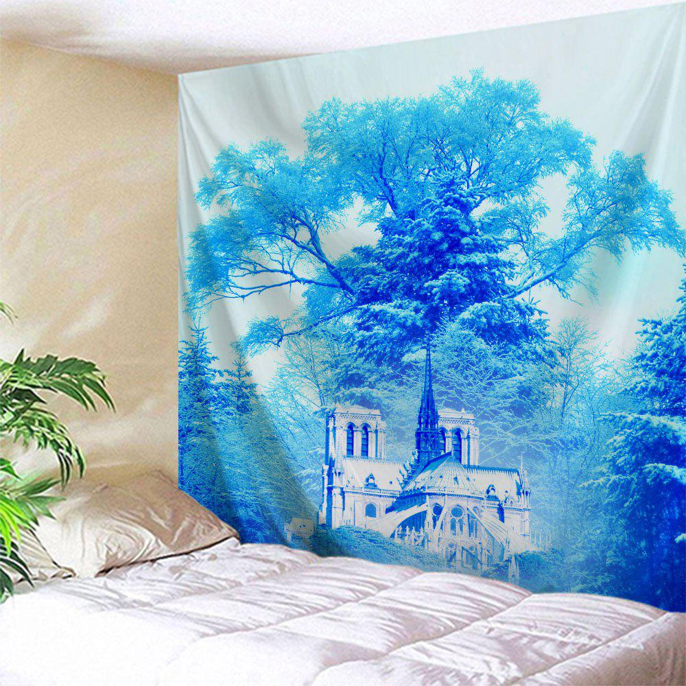 Best Wall Decoration Dreamlike Forest Castle Tapestry