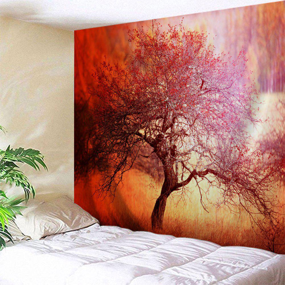 Fancy Branchy Tree Print Tapestry Wall Hanging Art Decoration