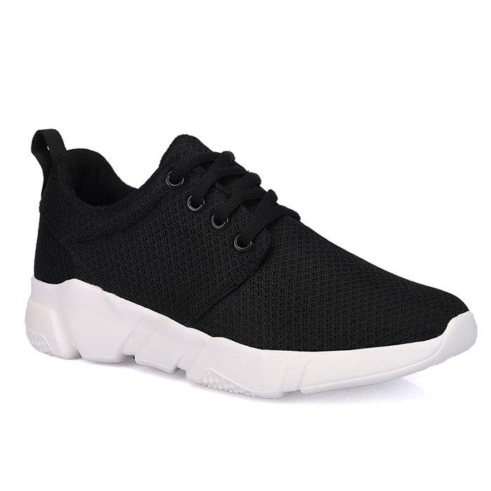 Discount Eyelets Breathable Mesh Athletic Shoes