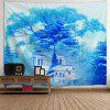 Wall Decoration Dreamlike Forest Castle Tapestry -