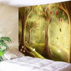 Fairy Apple Orchard Wall Blanket Tapestry