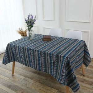 Bohemia Zigzag Printed Tablecloth