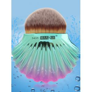 Two Tone Ocean Shell Shape Foundation Brush