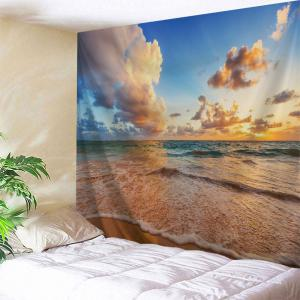 Beach View Print Tapestry Wall Hanging Art Decoration