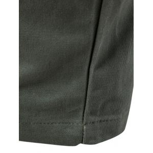 Multi Pockets Nine Minutes of Cargo Pants - ARMY GREEN 2XL