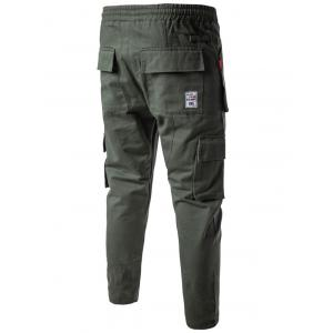 Multi Pockets Nine Minutes of Cargo Pants - ARMY GREEN 3XL