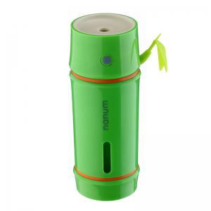 Portable Bamboo Shape LED Night Light Mini Humidifier -