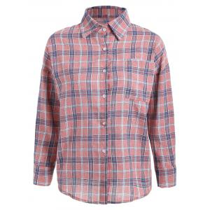 Pocket Plaid Shirt