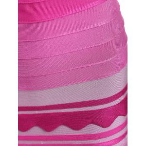 Ombre Color Night Out Bandage Dress -