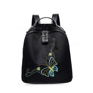 Nylon Embroidery Rivets Backpack