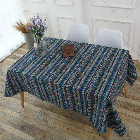 Buy Bohemia Zigzag Printed Tablecloth - W55 INCH * L55 INCH COLORFUL Mobile