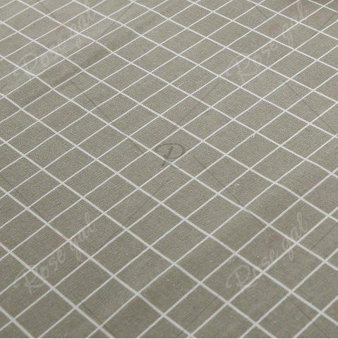 Affordable Grids Patterned Kitchen Decor Table Cloth - W55 INCH * L71 INCH PURE COLOR Mobile