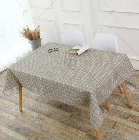 Best Grids Patterned Kitchen Decor Table Cloth - W55 INCH * L71 INCH PURE COLOR Mobile