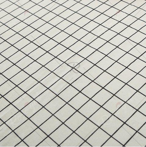 Latest Plaids Patterned Kitchen Decor Tablecloth - W55 INCH * L71 INCH WHITE Mobile