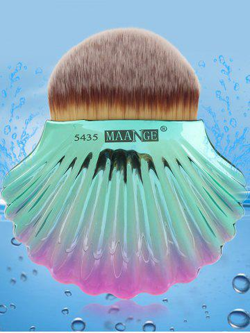 Outfits Two Tone Ocean Shell Shape Foundation Brush - GRAY  Mobile