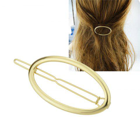 Store Alloy Decorative Oval Hairpin
