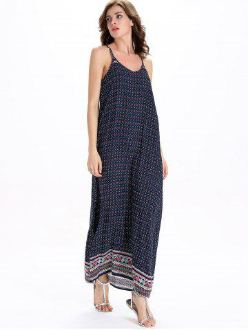 Tribal Slip Swing Maxi Dress