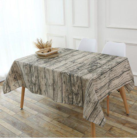 Shop Original Wood Texture Kitchen Decor Table Cloth