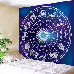 Zodiac Signs Print Tapestry Wall Hanging Art Decoration
