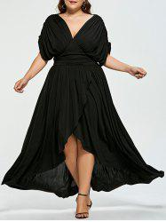 High Low Empire Wasit Robe de bal taille taille